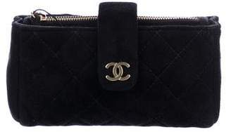 Chanel Quilted O-Mini Clutch