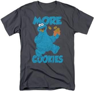 0accf4da59 Sesame Street Children s TV Show More Cookies For Monster Adult T-Shirt Tee