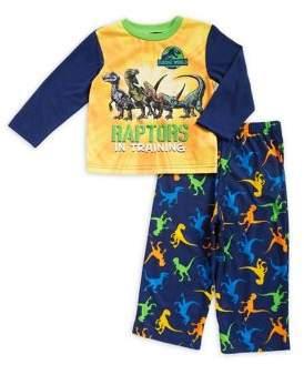 AME Sleepwear Little Boy's Two-Piece Raptor Pajamas