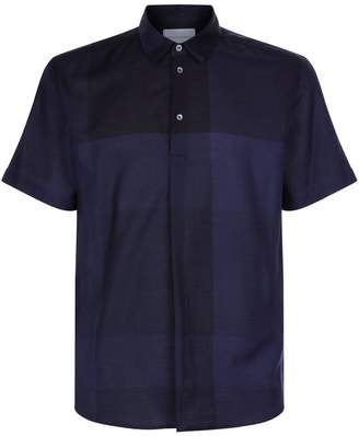 Contrast Panel Polo Shirt