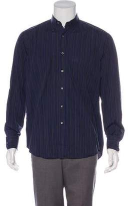 Lanvin Striped Woven Shirt