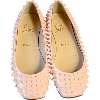 Christian Louboutin Leather Ballet Flats