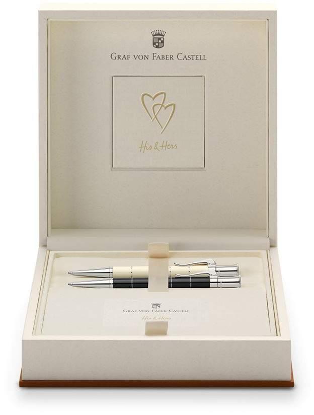 Graf Von Faber-castell Classic Anello His & Hers Ballpoint Pen Set