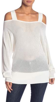 KENDALL + KYLIE Kendall & Kylie Cold Shoulder Pullover Shirt