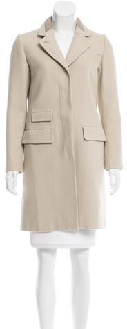 Chloé Chloé Notch-Lapel Knee-Length Coat