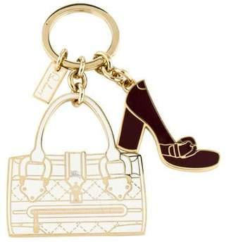 Burberry Bag & Shoe Keychain