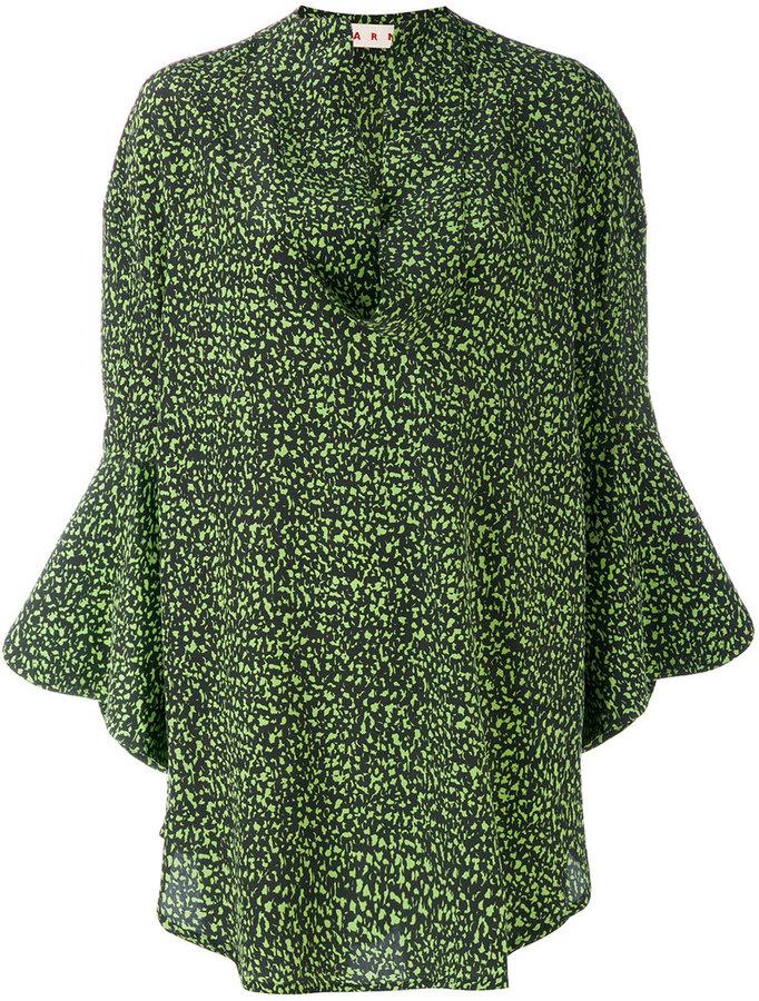 MarniMarni printed tunic