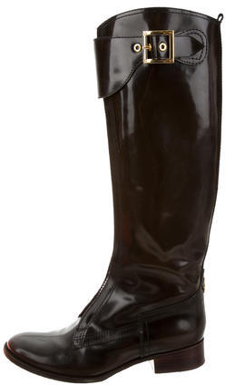 Tory BurchTory Burch Knee-High Patent Leather Boots