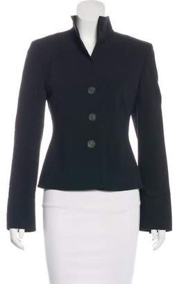 Akris Structured Button-Up Blazer