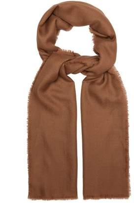 Max Mara Cashmere Scarf - Womens - Camel