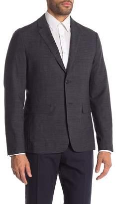 Theory Clinton Eclipse Multi Two Button Notch Lapel Suit Separates Jacket