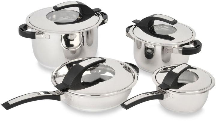 BerghoffBergHOFF® Virgo 8-Piece Stainless Steel Cookware Set