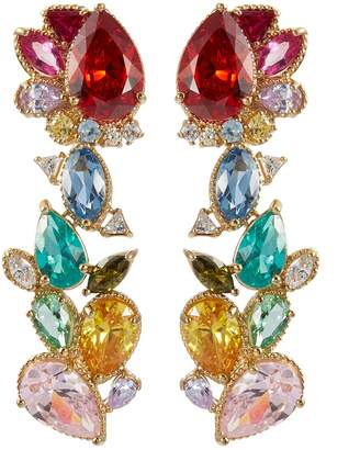 Garden of Eden Anabela Chan 'Garden of Eden' gemstone drop earrings