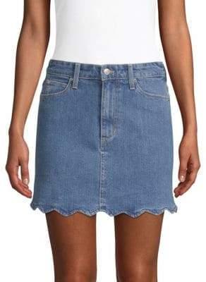 Joe's Jeans Bella High-Rise A-Line Denim Skirt