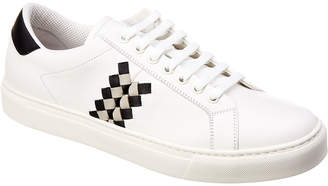 Bottega Veneta Checker Leather Sneaker