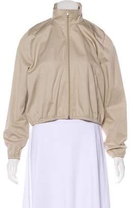 Balenciaga 2016 Cropped Bomber Jacket