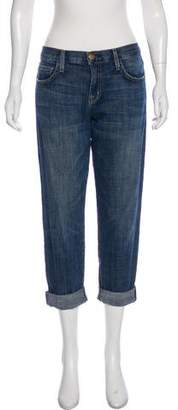 Current/Elliott Cropped Mid-Rise Jeans