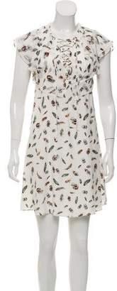 The Kooples Silk Printed Dress w/ Tags