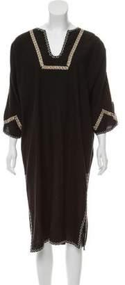 Ulla Johnson Embroidered Maxi Dress
