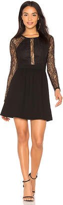 BCBGeneration Lace Trimmed Dress