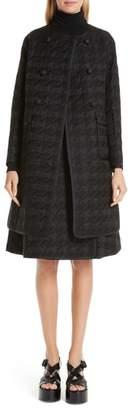 Noir Kei Ninomiya Quilted Houndstooth Coat