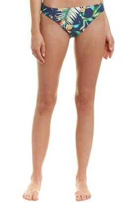 Lucky Brand Lush Leaf Bikini Bottom