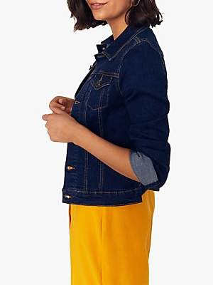 Oasis Nancy Denim Jacket, Indigo
