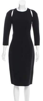 Michael Kors Midi Cutout Dress