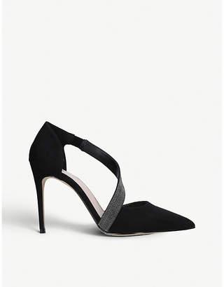 Carvela Artemidis faux-suede court shoes