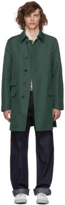 Marni Green Duster Coat
