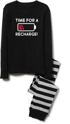 Crazy 8 Crazy8 Recharge 2-Piece Pajama Set