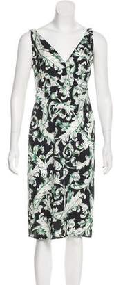 Tome Silk Midi Dress
