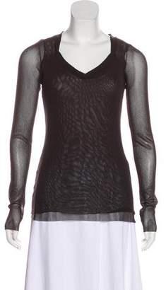 Fuzzi Long Sleeve Knit Top w/ Tags