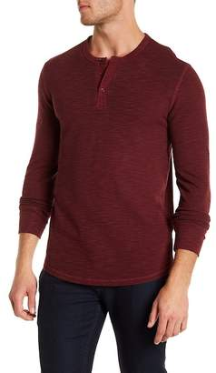 Lucky Brand Lived In Thermal Button Down Henley
