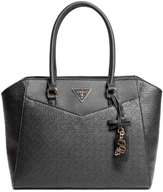 GUESS Factory Women's Desire Logo-Embossed Carryall