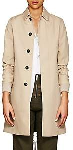 MACKINTOSH VIS A VIS Women's Plain-Weave Jacket-Beige, Tan