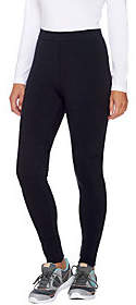 Denim & Co. Active Pull-On Fleece LinedLeggings