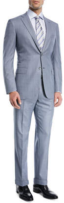 Brioni Windowpane Wool Two-Piece Suit