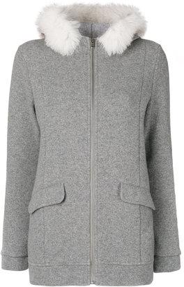 Woolrich fur collar zipped jacket $382.31 thestylecure.com
