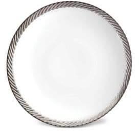 L'OBJET Corde Porcelain Soup Plate