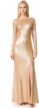 Theia Giselle Bateau Sequin Gown $290 thestylecure.com