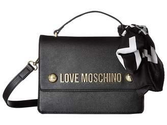 Love Moschino Crossbody Bag with Scarf