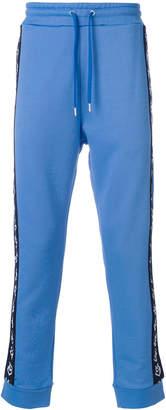 Love Moschino side logo stripe sweatpants