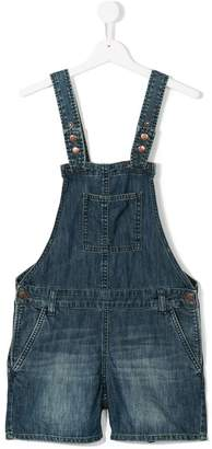 American Outfitters Kids denim dungaree shorts