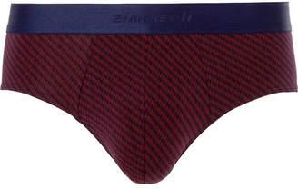 Zimmerli Stretch-cotton Briefs - Purple