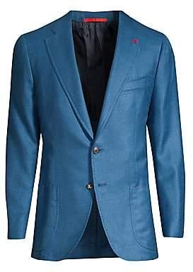 Isaia Men's Cashmere& Silk Blazer