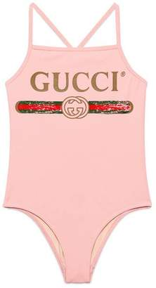Gucci Children's swimsuit with logo