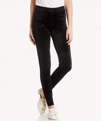 Sole Society Velvet Grease Legging