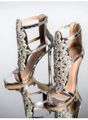 A.N.A Perez Silver Fancy Heels