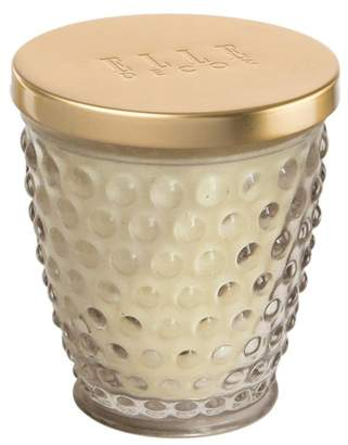 Jay Import Hobnail Glass Jar Candle 8oz - Clear